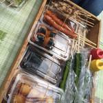 猊鼻舟下り観光センター - 料理写真:
