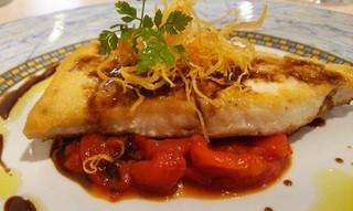 リストランテ ステファノ - メイン魚料理 (カジキマグロのソテー)