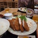 ともよし - 懐かしのチキンカツ定食600円