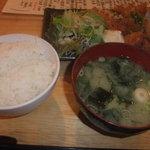 Kazuyaのごはん - チキン南蛮定食