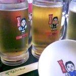 世界の山ちゃん 錦三大津店 - 山ちゃんのビール
