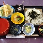 青葉の庄 - 葛うどん御膳 1490円(税込)