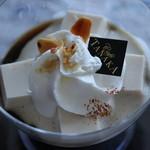 カフェタナカ - コーヒー豆腐ゼリー