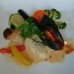 レストラン アンサンブル - 魚介の盛り合わせ フュメ・ド・ポワソン