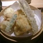 まる福 - 鶏天定食