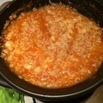 坐・和民 - トマト鍋〆のリゾット