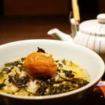 40947049 - 南高梅のお茶漬け (¥540)