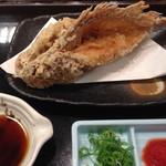 沼津 魚がし鮨 流れ鮨 - カサゴの唐揚げ