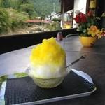 40948160 - かき氷 レモン 300円(税込)
