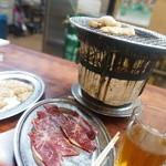 三千里 - 料理写真:焼くべし焼くべし!