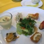 ピアット - 料理写真:前菜