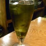 40949985 - ボルスグリーンティー・ウーロン 緑茶リキュールを烏龍茶で割るw♪