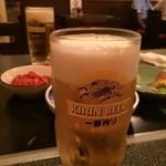 浪花屋 - 生ビール¥180!!