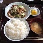 みわ亭 - 料理写真:回鍋肉定食