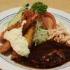 ポポット - 料理写真:ハンバーグ&海老フライ