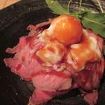 40953678 - 自家製ローストビーフ丼 1490円