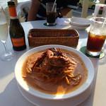 レストランDon - '名物' 渡り蟹のトマトクリーム
