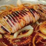 食楽部屋みなみ - イカの丸焼き