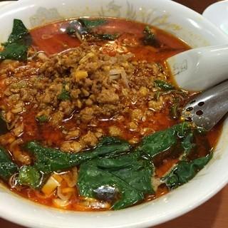 台湾料理 龍勝 - 四川風担々麺¥700。結構辛いけど美味しい!