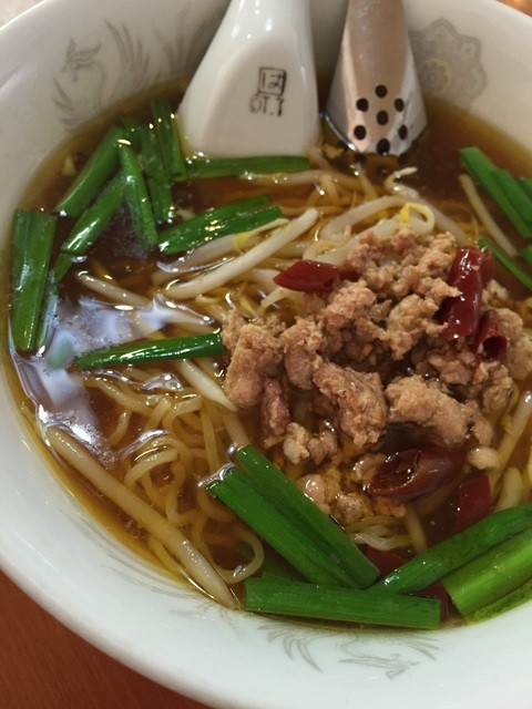 台湾料理 龍勝 - 台湾ラーメン¥500