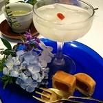 中国割烹大岩 - 料理写真:デザート2種