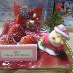 ティコラッテパティスリー - (2012/12)クリスマスケーキ フレジェ