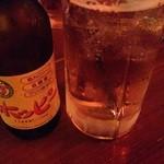 ビアカフェ 米風 - ホッピー(白)490円