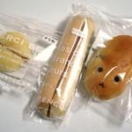 焼きたてぱんの店 Clover - イベントで購入したパン3点(2015年6月)