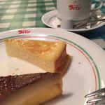 カフェ・ド・ラパン - チーズケーキ&ジュノワープディング(わがまま30ver.)