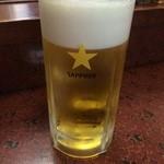 お加代 - 生ビール201506