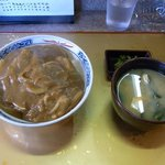 松月庵 - 「カレー丼」