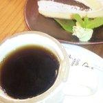 柚子霧乃路 - 料理写真:柚子霧乃路 ケーキセット
