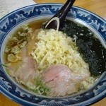 大黒屋 - たぬきラーメン(醤油)500円