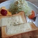 40962289 - ハムチーズトースト