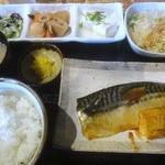 ふうり - さばの煮付け定食(H26.11)