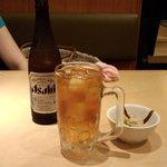 40963685 - 瓶ビール&ウーロンハイ
