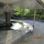 那須ちふり湖カントリークラブレストラン - 温泉露天風呂