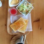 カフェ・メールネージュ - 本日のトーストモーニング