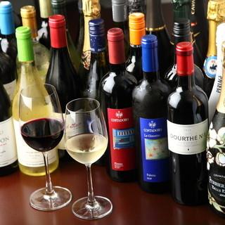 【ソムリエが選んだ世界のワイン】世界各地の珍しいお酒もご用意