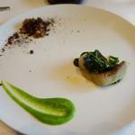レストラン マノワ - すずきのポワレ