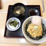 40965313 - ちび雲丹丼¥1300 + ホタテ貝柱¥200