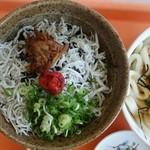 麺屋 岬亭 - しらす丼