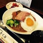 天ぷらたくみ - 本日の日替わり定食・カレーです!700