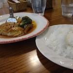 木のぴーHouse - サワラキノピイ風(スープ。サラダ付)¥1,080