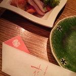 4097422 - 前菜&お箸袋@花炎