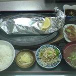 さしみ亭 - 料理写真:人気№1 魚のバター焼き定食
