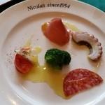 ニコラス - 前菜盛り合わせ