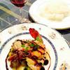 暖家 - 料理写真:海鮮のメインは大きなエビ〜
