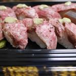 ウエムラ - ステーキ寿司 テイクアウトでゲットしました(^^♪