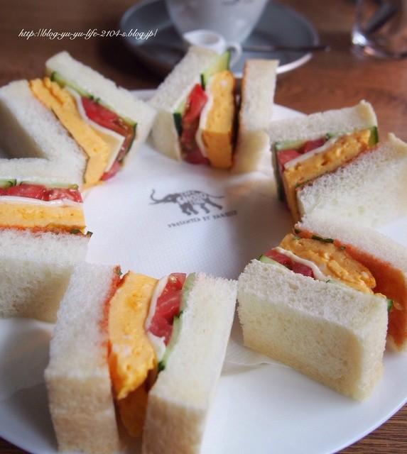 ナス・ショウゾウ カフェ - サンドウィッチは1種類
